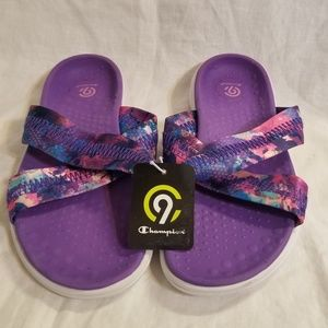 Champion Girls Slip On Sandals